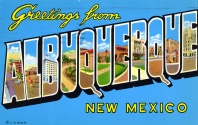 Albuquerque post card (flickr.com)