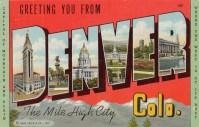 Denver post card (pinterest.com)