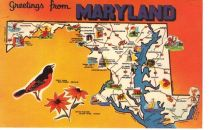 Maryland post card (pinterest.com)