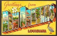 New Orleans post card (pinterest.com)