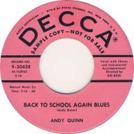 andy-quinn-back-to-school-again-blues (45cat.com)