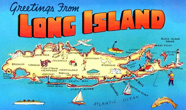 Long Island Postcard (theworldaccordingtofrankbarning.blogspot.com)