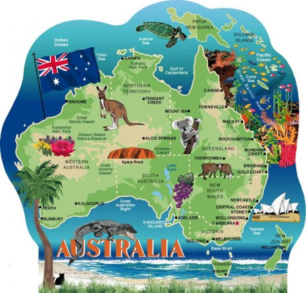 AUSTRALIA MAP (catsmeow.com)